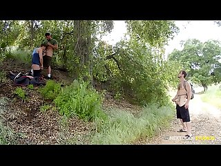 Donte Thick Joins 2 Hunks In Public Park - NextDoorStudios
