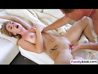 Experienced guy took advantage of young hottie Iggy Amore and made her cum