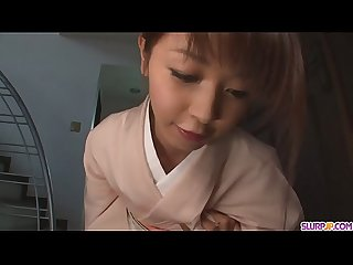 Teen marika gives an asian pov blowjob and swallows cum more at slurpjp com
