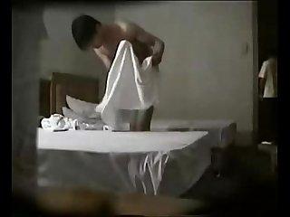 Hotel secret camera
