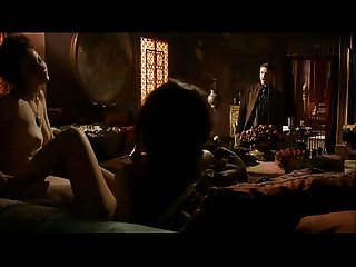 Esm� Bianco and Sahara Knite lesbo sex scene in Games of Thrones S01E07 (HD quality)