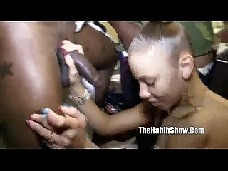 Too damm fine Rican Ms. Natural gangbang by homie Rome major