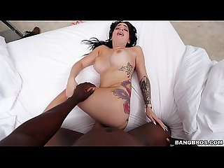 Aria rose satisfies her monster of cock craving mc14836