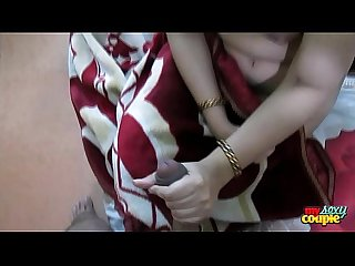 Indian Bhabhi sonia giving blowjob sex