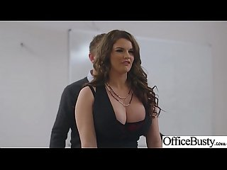 (Tasha Holz) Girl With Round Big Tits In Hard Style Sex In Office clip-28