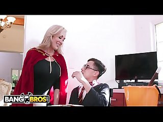 BANGBROS - Halloween Special With Brandi Love, Kenzie Reeves, and Juan El Caballo Loco