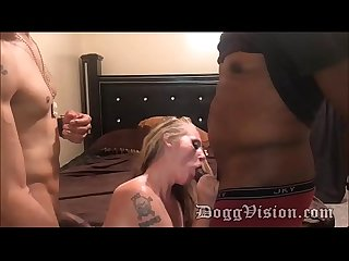 Trailer park pawg on 2 bbc