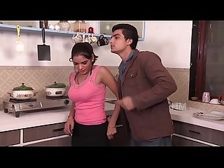 Indian desi young bhabhi romance with husband s boss hot short film