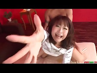 Maika amazing milf sex with two younger males - More at Japanesemamas.com