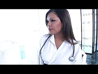 Flirty ladyboy nurse carmen moore ends up anal screwed by her patient stud