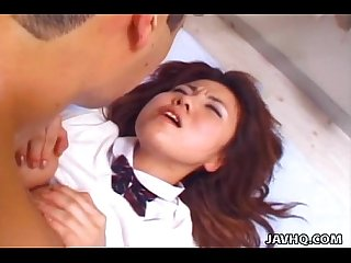 Yuu aoki rammed by cock