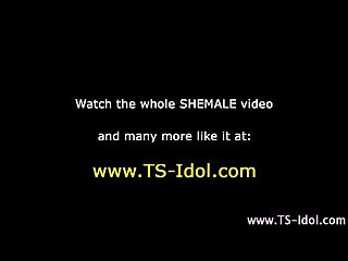 Shemale fucks dudes ass