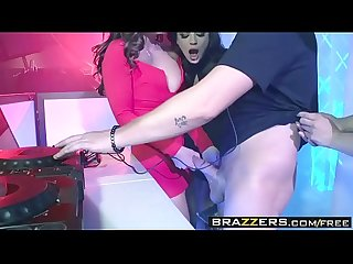 Brazzers brazzers exxtra the joys of djing scene starring abigail mac keisha grey and jessy jone