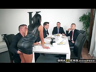 Brazzers real wife stories the dinner party scene starring adriana chechik comma keiran lee comma ra