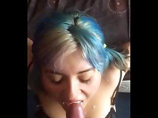 Puta Chilena de lentes daplei