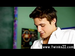 Twink video krys perez plays a insane professor who S nosey about the