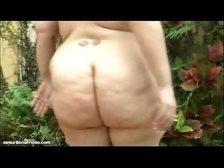 Big booty latina on vacation fucks stranger outside hotel