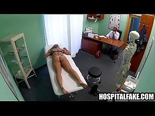 Sexy blonde babe fingered and fuckede still dizzy after doctor cums in her 720 3