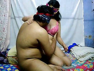Cock riding porn scene with indian wife savita bhabhi indian