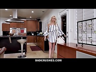 Cute Blonde Teen Step Daughter Chloe Temple Fucks Her Step Dad For Rent Payment POV