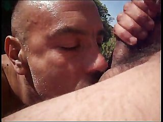 Addictcum cum in the sand