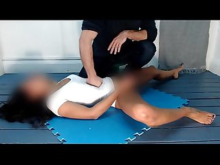 Belly Punishment #3 Torture and self pleasing by Gabriela Pliant (video for download)