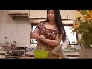 Asian mature Milf was cooking while she get molested by her daughter's BF - ReMilf.com
