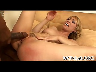 Black schlong in white anal