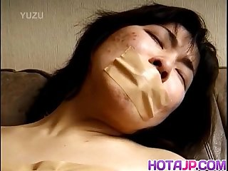 Japanese av model gets sex toys