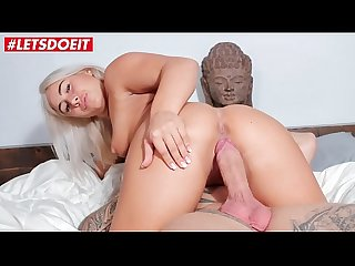 LETSDOEIT - Blonde French Slut Rough Fucked At Casting