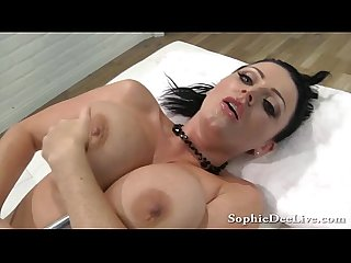 Big tit sophie dee gagging and squirting