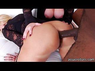 Blonde vixens dee siren and naughty alysha ass destroyed