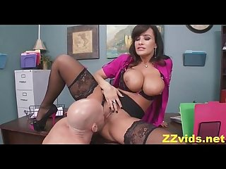 Busty Lisa Ann Office ficken