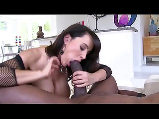 Mature Milf black hair of big tits and fat ass fucking hard with huge black by pussy and ass