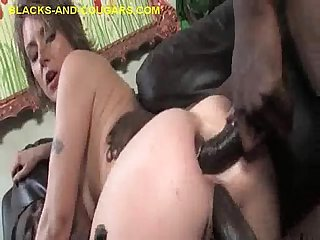Dp with huge black dicks