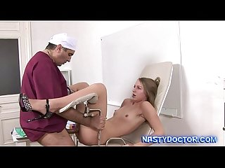 Old perv gynecologist uses his cock