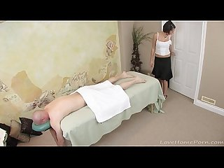He received more than a casual massage