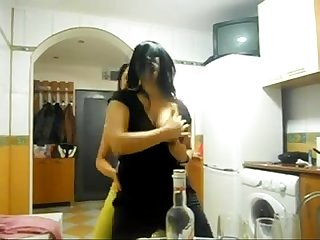Sexy 2 Arab girls boobs show pussy show