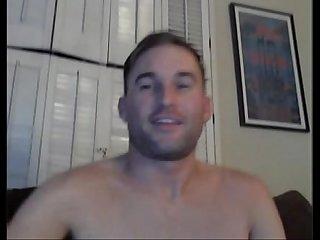 Handsome stud wank his cock and eat cum menoncum com