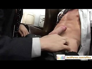Office cock gay gays fucked in the office Video15