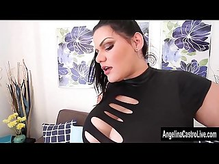 Angelina castro strap on fucks sara jay