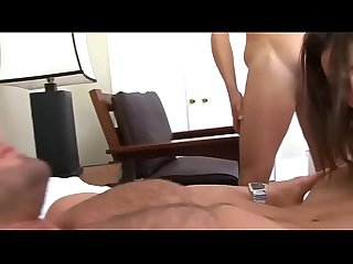 cuckold lets wife fuck a muscular guy