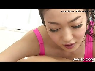 Harsh pleasures for horny japanese av model ryu enami