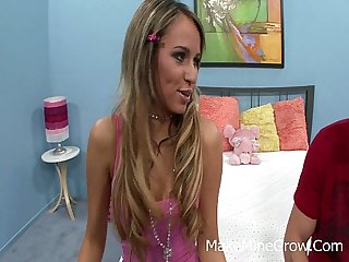 Alexa Diamond - The gorgeous model Victoria Sweet drilled