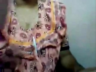Indian Aunty boobs and chut fingering on skype