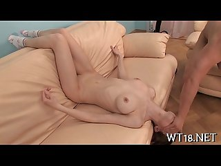 Excited guy easily seduces neat girl