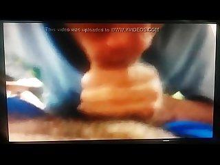 Novinho brasileiro pagando boquete para o rapaz at fazer ele gozar muito assim que ele acabou de che
