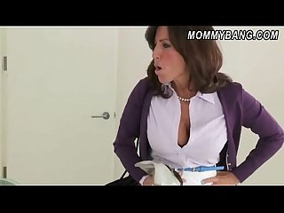 Busty milf tara holiday teaches mischa brooks and bf analsex