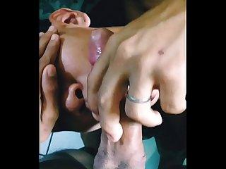 Cliente Chupando meu pau at gozar na boca