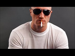 Skinhead smokes and spits on you 016 boxer 2 015